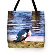 Odd Looking Duck In Swansboro Nc Tote Bag