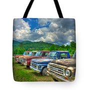 Odd Man Out Fords And Friend  Tote Bag