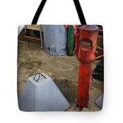 Odds And Ends And Shapes Tote Bag