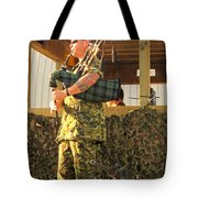 Ode To A Machine Gun Tote Bag