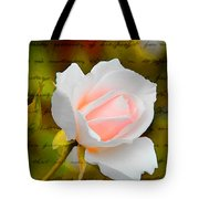 Ode To A Rose Tote Bag