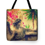 Ode To Barbara One Angelic Mountain Sculpture Garden  Tote Bag