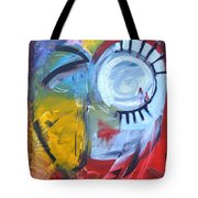 Ode To Jim Dine Tote Bag