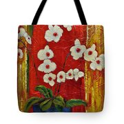 Ode To Orchids Tote Bag