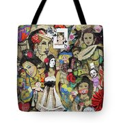 Of Babes And Butterflies Tote Bag