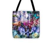 Of Phoenix And Rose Tote Bag