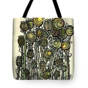 of Ripe poppies Tote Bag