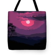 Of Skies And Magic Tote Bag