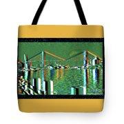Of Time And The Savannah River Bridge Tote Bag