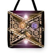 Off At Tangents Tote Bag