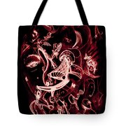 Off Her Head Tote Bag
