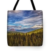 Off In The Distance Tote Bag
