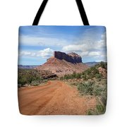Off Road On The Red Rock Tote Bag