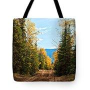Off The Alaska Highway Tote Bag