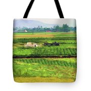 Off The Beaten Track Vietnam Viewed Through Train Window Filters  Tote Bag