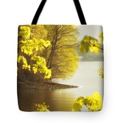 Off The Trail From Beacon Tote Bag