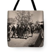 Off To Battle Tote Bag