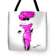 Off To Cocktails In Pink Tote Bag