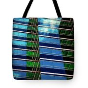 Office Abstract Tote Bag