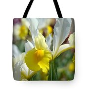 Office Art Botanical Iris Flower Garden Giclee Prints Baslee Troutman Tote Bag