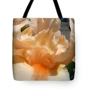 Office Art Irises Flower Orange Iris Flower Giclee Art Prints Baslee Troutman Tote Bag
