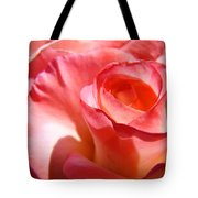 Office Art Pink Rose Spiral Roses Giclee Prints Baslee Troutman Tote Bag