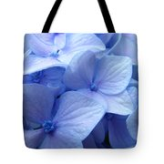Office Art Prints Blue Hydrangea Flowers Giclee Baslee Troutman Tote Bag