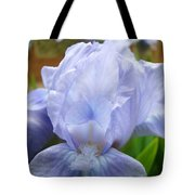 Office Art Prints Blue Iris Flower Giclee Prints Baslee Troutman Tote Bag