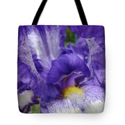 Office Art Prints Iris Flowers Purple White Irises 40 Giclee Prints Baslee Troutman Tote Bag