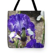 Office Art Prints Irises Flowers 46 Iris Flower Giclee Prints Baslee Troutman Tote Bag