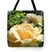 Office Art Prints Rose Peach Orange Rose Flower Baslee Troutman Tote Bag