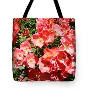 Office Art Rose Garden Landscape Art Pink Roses Giclee Baslee Troutman Tote Bag