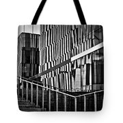 Office Buildings Reflections Tote Bag