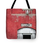 Office Door - Architecture Tote Bag