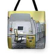 Office Funiture 3d Portfolio Tote Bag