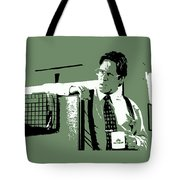 Office Space Bill Lumbergh Movie Quote Poster Series 002 Tote Bag