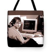 Office Space Michael Bolton Movie Quote Poster Series 004 Tote Bag
