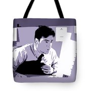 Office Space Peter Gibbons Movie Quote Poster Series 001 Tote Bag
