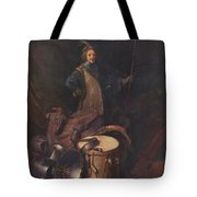 Officer Of The Marksman Society In Leiden Tote Bag