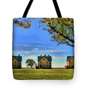 Officer's Row Tote Bag