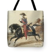 Officiers Du Highlanders  Tote Bag
