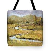 Ogden Valley Marsh Tote Bag by David King
