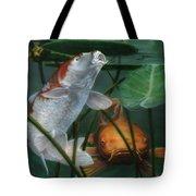 Oh Boy More Koi Tote Bag