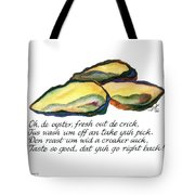 Oh De Oyster Tote Bag