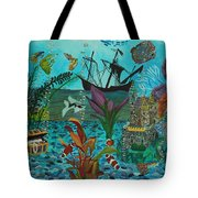 Oh Look A Castle  Tote Bag