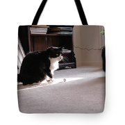 Oh Oh Here Comes Trouble Tote Bag