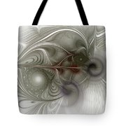 Oh That I Had Wings - Fractal Art Tote Bag