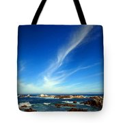 Oh The Beauty  Monterey Peninsula Ca  Tote Bag