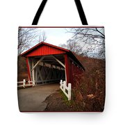 Ohio Covered Bridge Tote Bag