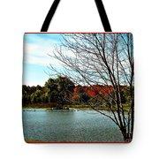 Ohio Duck Pond Tote Bag